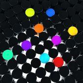 カラー ボタン — ストック写真