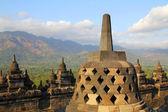 Ancient stupas — Stock Photo