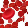 Blood cells — Stock Photo