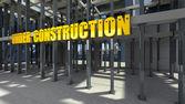 En cours de construction — Photo