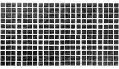 Blocos pretos com luz de fundo — Foto Stock