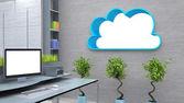 Cloud concept — ストック写真