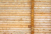Wooden logs texture — Stock Photo