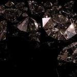 czarne diamenty — Zdjęcie stockowe
