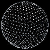 Алмаз сфера — Стоковое фото