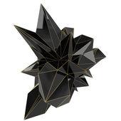 Siyah şekil — Stok fotoğraf
