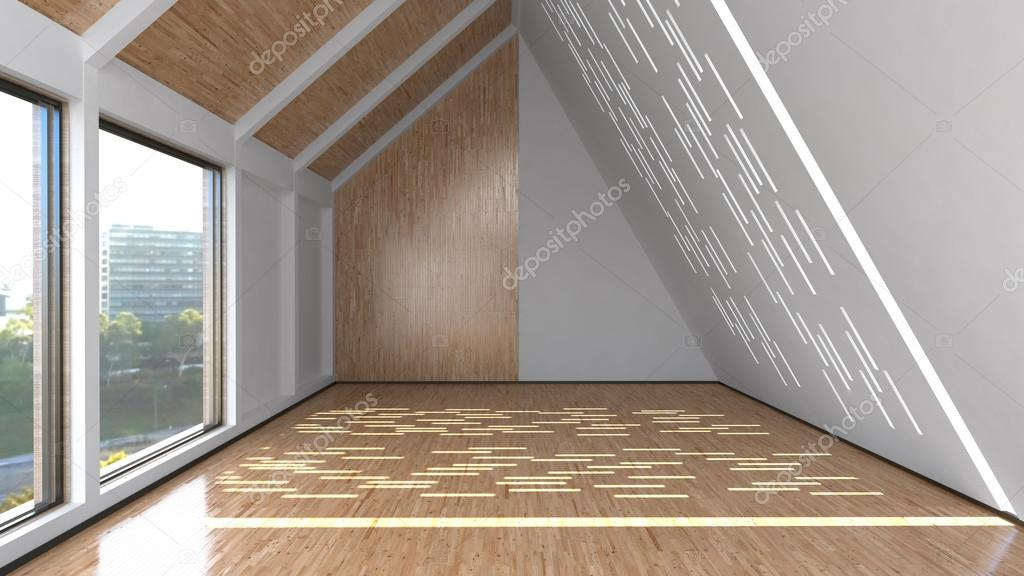 Zolder interieur stockfoto whitehoune 24665355 for Kamer interieur