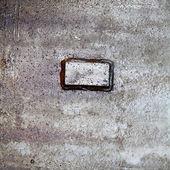 Oily metal plate — Stock Photo
