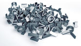 Pile of letters — Stock Photo