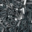 Stock Photo: Typographic composition
