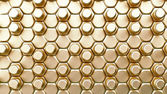 Golden bolts background — Stock Photo