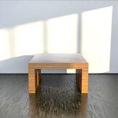 Room with table — Stock Photo