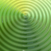 Green ripple — Stock Photo