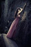 令人惊叹的美的时髦的衣服 — 图库照片