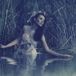 Beautiful water nymph — Stockfoto #13883259