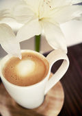 Cup of hot chocolate — Stockfoto
