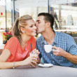Cute couple having fun — Stock Photo