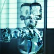 Intersting picture of a water android — Foto de Stock