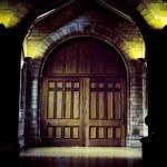 Medieval gate — Stock Photo