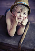 Cute little boy — Foto Stock