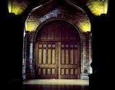 中世のゲート — ストック写真