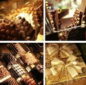 Photoillustration of marvelous sweets — Stock Photo