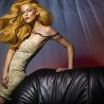 Goldenhair lady — Stock Photo #14601563