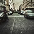 Royalty-Free Stock Photo: Amazing view of traffic in italian city