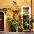 Old italian street - Stock Photo