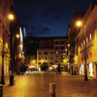 Fine shoot of street in the midnight - Stockfoto
