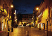 Fine shoot of street in the midnight — Stock Photo