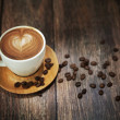 Great shoot of coffee cup - Stock Photo