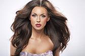 Retrato de uma perfeita beleza feminina — Foto Stock