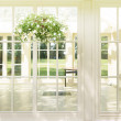 Luxury residence in sunny day — Stock Photo