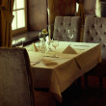 Photo presenting interior of luxury restaurant — Stock Photo