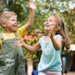 Nice picture of happy kids — Stock Photo