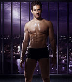 Handsome man with fabulous body — Stock Photo