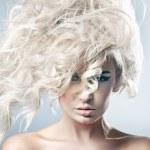 bella donna bionda — Foto Stock #4596950