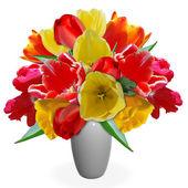 Bouquet tulips — Stock Photo