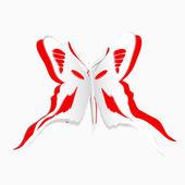 一只蝴蝶 — 图库矢量图片