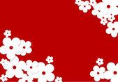 Paper flowers — Stock Photo