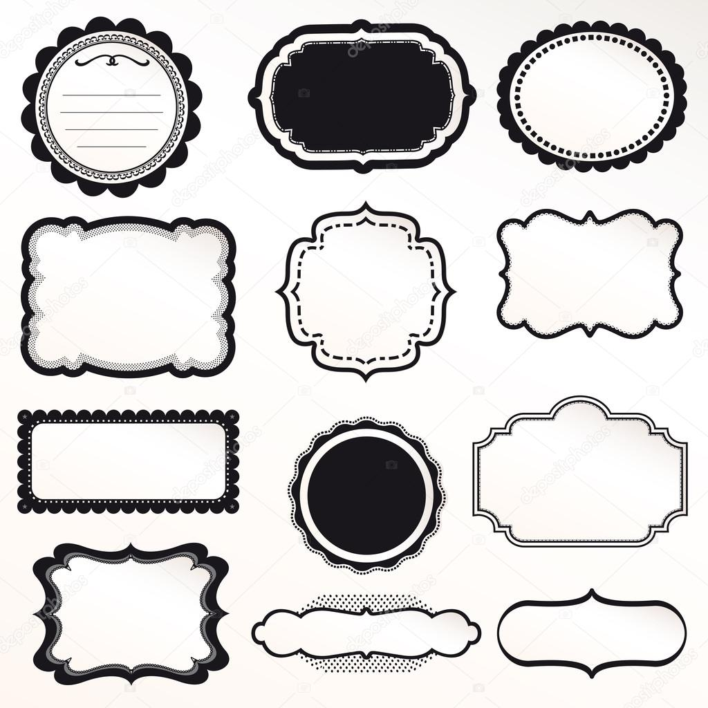 Frame Vintage Vector Free Download - Awesome Graphic Library •