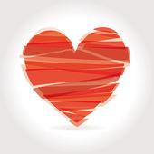 Coração vetorial ilustração ícones símbolos valentim — Vetorial Stock