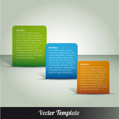 Template, vector eps10 illustration — Stock Vector