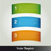 Plantilla vector eps10 ilustración — Vector de stock