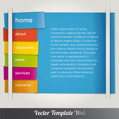 Modern infographics options banner. Vector illustration. — Stock Vector