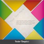 Diseño plantilla vector eps10 — Vector de stock