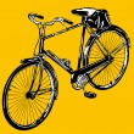 Old classic bike Illustration Vector — Stock Vector #3415292