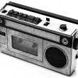 Cassette player, Retro object — Stock Photo