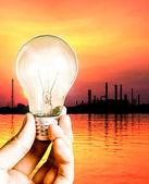 Need energy concept — Stock Photo